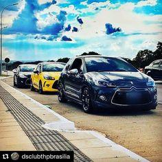 #We  #DS3 #LoveDS #FrienDS #Repost @dsclubthpbrasilia ... DS3 dos amigos @mandrevs @antoniojulienkoffi @ubiratan.guimaraes #dsclubthpbrasilia #dsclube #dsclub #dsbrasil #dsbrasil #citroends #dsline #ds3club #ds3performance #ds3gboc