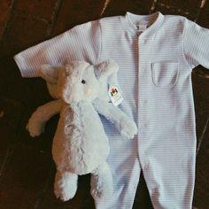 baby blue and elephants, too! #jellycat #kissykissybaby #littlerootanimals #elephant