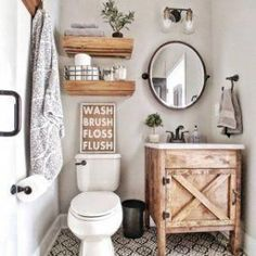Beautiful master bathroom decor a few ideas. Modern Farmhouse, Rustic Modern, Classic, light and airy master bathroom design ideas. Bathroom makeover tips and bathroom remodel suggestions. Boho Bathroom, Bathroom Inspo, Bathroom Styling, White Bathroom, Bathroom Wall, Bathroom Inspiration, Budget Bathroom, Cute Bathroom Ideas, Bathroom Canvas