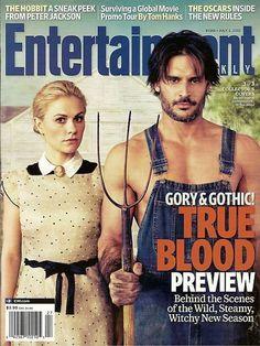 Entertainment Weekly, True Blood, Anna Panquin,Joe Manganiello,July 2011~NEW