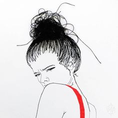 Represented by agency La Suite, Cléa Lala is a young French artist who mixes embroidery and illustrations. Diy Embroidery Art, Portrait Embroidery, Embroidery Motifs, Contemporary Embroidery, Modern Embroidery, Girls Quilts, Illustrations, Textile Art, Textile Design