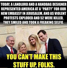 Says Volumes about Compassion, Concern, Commitment, Integrity and Diplomacy of this WH/GOP Gang Funny, Hilarious, Religion, Keep The Peace, Political Views, Political Ideology, Political Memes, Being A Landlord, Presidents