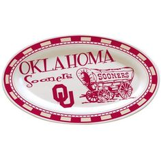 NCAA University of Oklahoma Gameday 2 Ceramic Platter by The Memory Company, http://www.amazon.com/dp/B003KMHI00/ref=cm_sw_r_pi_dp_CAa8rb1QRRFT0