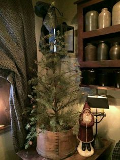 prim cozy christmas christmas time primitive christmas decorating primitive country christmas simple - Pinterest Primitive Christmas Decorating Ideas