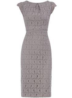 Grey lace dress - Dorothy Perkins