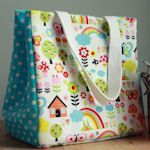 A beautiful galore of fabric lunch bags and accessories!!  Who doesn't want an adorable lunch bag?!
