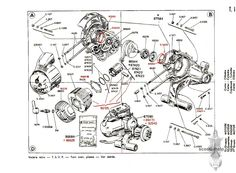 image result for vespa gs 150 kickstart parts pinterest rh pinterest com Vespa 200L Wiring Diagram 05 Vespa Scooter Wiring Diagram