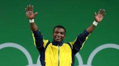 Image copyright                  Getty Images Image caption                                      Óscar Figueroa se convirtió en campeón olímpico en la categoría de menos de 62 kilogramos del levantamiento de pesas.                                La alegría para Colombia en los juegos de Río 2016 llegó este lunes, pues Oscar Figueroa Mosqueria ganó la medalla de oro en la final de levantamiento de pesas. El colombiano de 33 años sum�