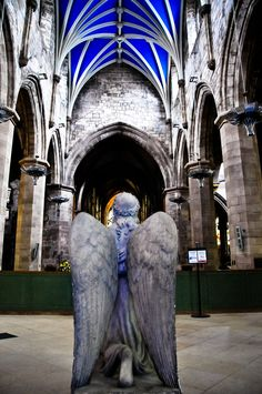 An Angel at the St Giles' Cathedral Edinburgh Scotland | Flickr - Photo Sharing!