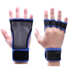 Breathable Half-Finger Gloves - Multiple Colors Available Gym Dumbbells, Safety Slogans, Weightlifting Gym, Workout Gloves, Gym Training, Health And Safety, Academia, Weight Lifting, Gym Workouts