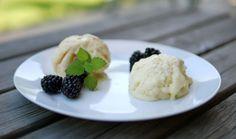 Experimente aus meiner Küche: Zitronen-Milchmädchen-Eis (ohne Eismaschine)