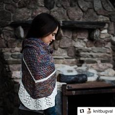 This is sooo beautiful I can hardly wait for the pattern!! #Repost @knitbugval with @repostapp ・・・ Nice to see you knitting mojo, oh how I missed you! After a bit of a Jan-Feb slump I'm back to knitting nearly every day New shawl prototype #1 done! Just started prototype #2 to double check the math.  #knittersofinstagram #tricotaddict #yarnindulgences #newpattern #handdyed #yarn