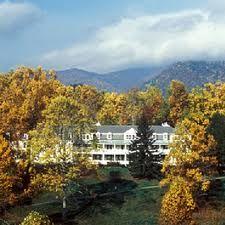 balsam mountain inn, NC.