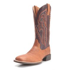 The Ariat Men's Heritage Latigo Cowboy Boots are built with the comfort you need for everyday wear. This pair of western boots for men features ATS Pro cushioning, which absorbs shock, rebounds energy, and provides comfortable airflow. Bike Boots, Motorcycle Boots, Cowboy Boots, Hiking Boots, Western Boots For Men, Western Cowboy, Cavalier Boots, V Shape Cut, Black Riding Boots