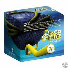 Disco Giants Vol. 1 - 10 (20 CD Boxset) - 80's Rare 12 Inches