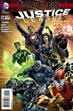 Justice League #24 - Forever Strong (Issue)