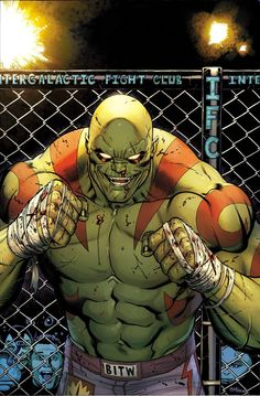 Drax #1 by Ed McGuinness *