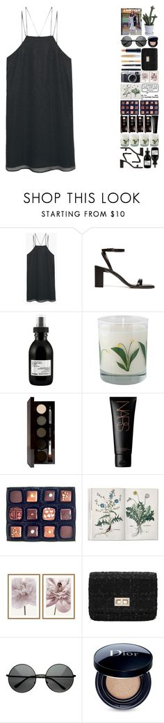 """5943"" by tiffanyelinor ❤ liked on Polyvore featuring MANGO, Balenciaga, Davines, Crash, Laura Mercier, Rococo Chocolates, Williams-Sonoma and Christian Dior"