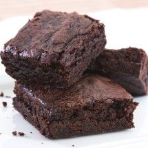 Avocado Brownies. Creamy avocados replace butter for fewer calories and added nutrients!
