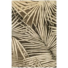 Martha Stewart by Safavieh Palms Wool/ Viscose Rug (Coconut/Brown Floral Area Rugs, Teal Area Rug, Beige Area Rugs, Transitional Decor, Transitional Kitchen, Hand Tufted Rugs, Carpet Runner, Runner Rugs, Martha Stewart