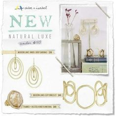 Natural Lux all under $50! Visit my online boutique at www.chloeandisabel.com/boutique/jeanannleary.