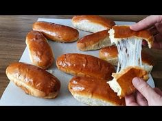 TÜM POĞAÇALARI UNUTUN, BUNDAN DAHA YUMUŞAĞI OLAMAZ😍 AZ YAĞLI, PUF PUF KA... Hot Dog Buns, Hot Dogs, Sweet Pastries, Bread, Cooking, Food, Portal, Cakes, Instagram