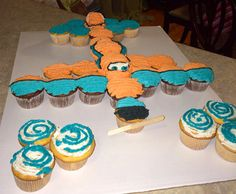 More Pull-Apart Cupcake Inspiration: Dusty from Planes
