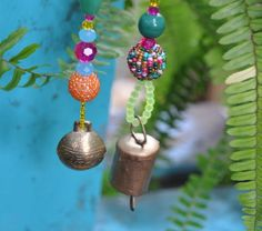 Boho bell Ornaments decoration-set of 6 #bellornaments #treedecoration #christmasgift #bohodecor #christmasornaments #gypsydecorations #bohoornament #christmasdecor #bellsornament #bohemianornaments #christmasdecoration #xmasornament #beadedornaments Beaded Ornaments, Christmas Tree Decorations, Christmas Tree Ornaments, Holiday Tree, Xmas Tree, Beads After Beads, Beaded Curtains, Hanging Art, Gifts For Family
