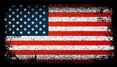 Bandera de usa grunge, bandera de estados unidos. ilustración vectorial de fondo Flag Vector, Vector Art, American Flag Clip Art, Tattoo Sleeve Designs, Vector Background, Roman Empire, Grunge, Clipart, Art Images