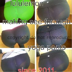 7d3ec179163 A lovely reader has provided a great illustration of how sheer Lululemon  pants have been going