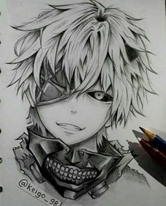 If you want to learn how to draw anime, you have come to the right place. We have some simple tutorials, as well as pictures to get inspiration from. girl drawing ▷ 1001 ideas on how to draw anime - tutorials pictures Naruto Sketch, Naruto Drawings, Anime Drawings Sketches, Anime Sketch, Manga Drawing, Manga Art, Manga Anime, Anime Art, Pencil Sketch Drawing