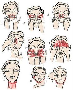 Echarpe Verde: Massagem Facial combate o envelhecimento precoce e alivia a alma - Primeira Postagem