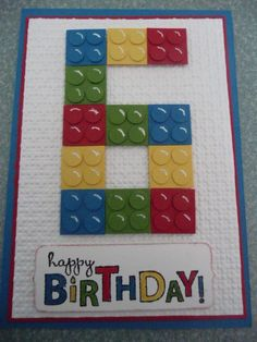 A fun Lego Card
