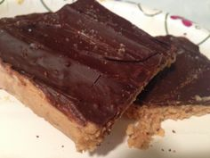 21 Day Fix Chocolate Peanut Butter Bars