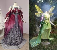 OHHHH MY: Amazing Armor And Art Nouveau Tinkerbell Gowns