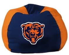 Lounge around during the big game while showing off your team spirit in this Northwest NFL(r) team Bean Bag Chair. The officially licensed chair has a comfortable 100% cotton shell and a soft virgin polystyrene bed fill for a perfect front row seat! The dyed panels match your favorite team's primary colors and a stylish team logo is proudly featured in the center.