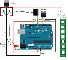 LED Strip Light Controller Using Arduino