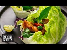 Marion's Kitchen is packed with simple and delicious Asian recipes and food ideas. Asian Recipes, New Recipes, Cooking Recipes, Kitchen Recipes, Sauce Recipes, Chicken Lettuce Wraps, Lettuce Cups, Thai Cooking, Clean Eating Snacks