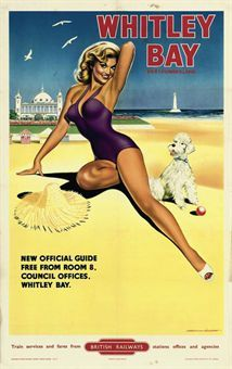 NORTHUMBERLAND Whitley Bay (Tyne-and-Wear)  Davies, 1957