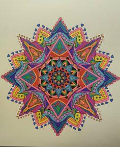 ColorIt Mandalas to Color Volume 1 Colorist: Kathy Gibbs #adultcoloring #coloringforadults #mandalas #mandalastocolor
