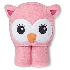 Newborn Girls Hooded Owl Towel Wrap-Pink Super soft and absolutely adorable, Newborn Girls' Hooded Owl Towel is ideal for drying baby's delicate skin. Towel Wrap, Baby Towel, Baby Safe, Organic Baby, Baby Wearing, Hoods, Hello Kitty, Newborn Girls, Delicate