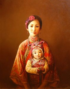 Mother And Child -Dongmin Lai (1957, Chinese)