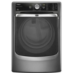 Maytag Maxima XL 7.4 cu. ft. Electric Dryer with Steam in Granite-MED8000AG at The Home Depot