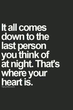 The last person