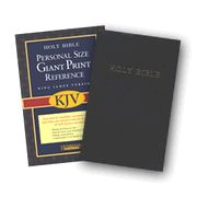 KJV Personal Giant Print Reference Bible Black Imitation Leather