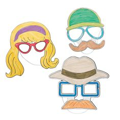 DIY Agents of Truth VBS Disguise Masks - OrientalTrading.com
