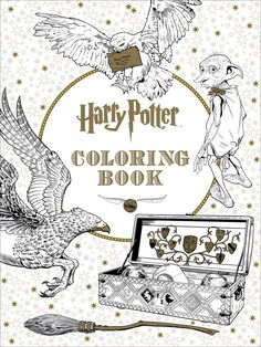 """For everyone who can't get enough of the Wizarding World, have no fear: Scholastic is publishing the Harry Potter Coloring Book for kids who love Harry Potter and adults who can't get enough. 