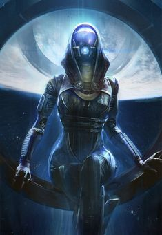 TaliZorah - Pictures  Characters Art - Mass Effect 2