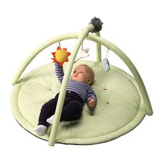 IKEA Leka Baby Gym. Like this one because the colours aren't too gaudy.