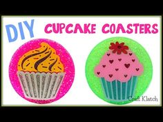 Resin Cupcake Coasters | DIY Projects | Another Coaster Friday | Craft Klatch | How To - YouTube